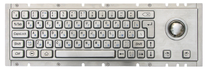 Metal keyboard TG-PC-H